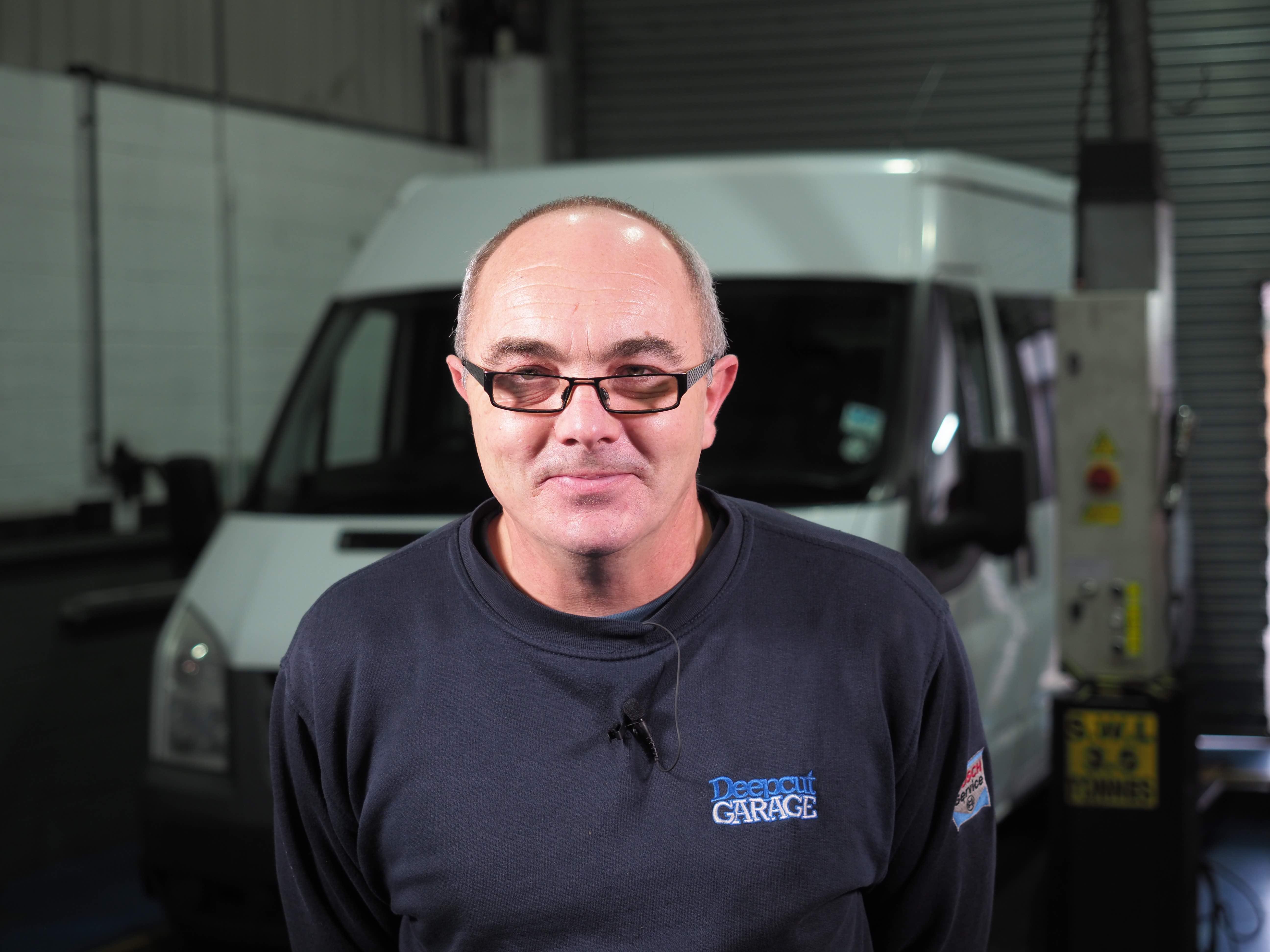 Steve - Deepcut Garage